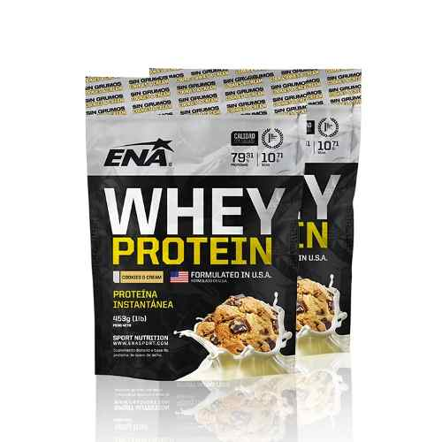 ENA WHEY PROTEIN COOKIES 79%          453 GRS 1LB