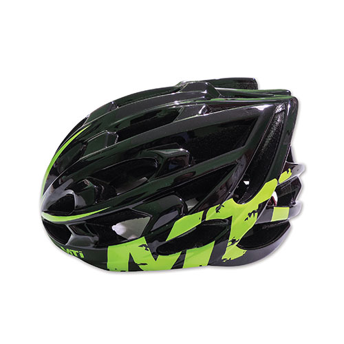 CASCO MTI IN MOLD LIFE 29  NEGRO /VERDE