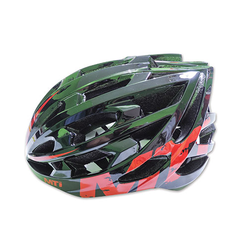 CASCO MTI IN MOLD LIFE 29  NEGRO /ROJO