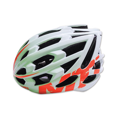 CASCO MTI IN MOLD LIFE 29  BLANCO /NARANJA