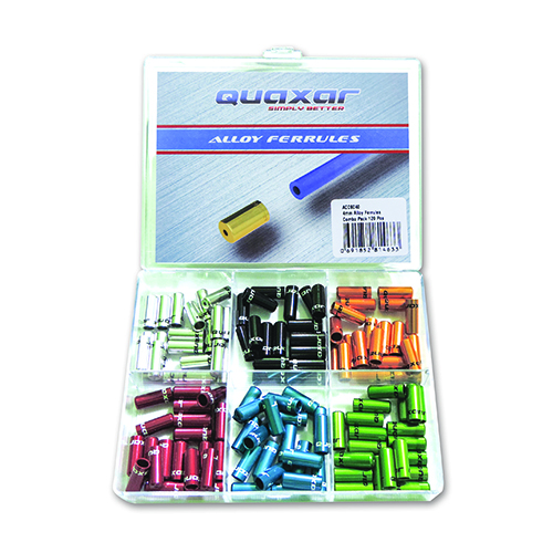 TERMINAL FUNDA CAMBIO 4mm X 120 PCS COLORES SURT