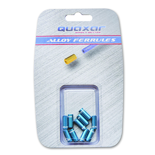 TERMINAL FUNDA FRENO 5 mm X 10 PCS AZUL