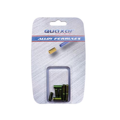 TERMINAL FUNDA CAMBIO 4mm X 10 PCS VERDE
