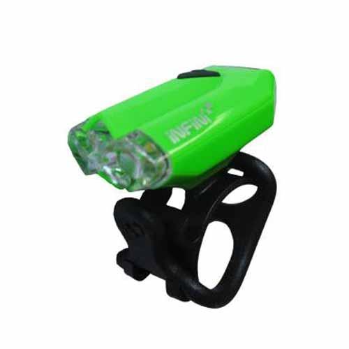 LUZ DELANTERA INFINI USB I-260 W LAVA VERDE