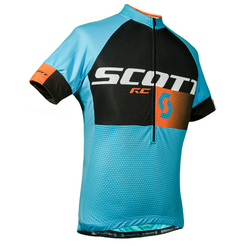 REMERA SCOTT RC 2016 CYAN /NARANJA